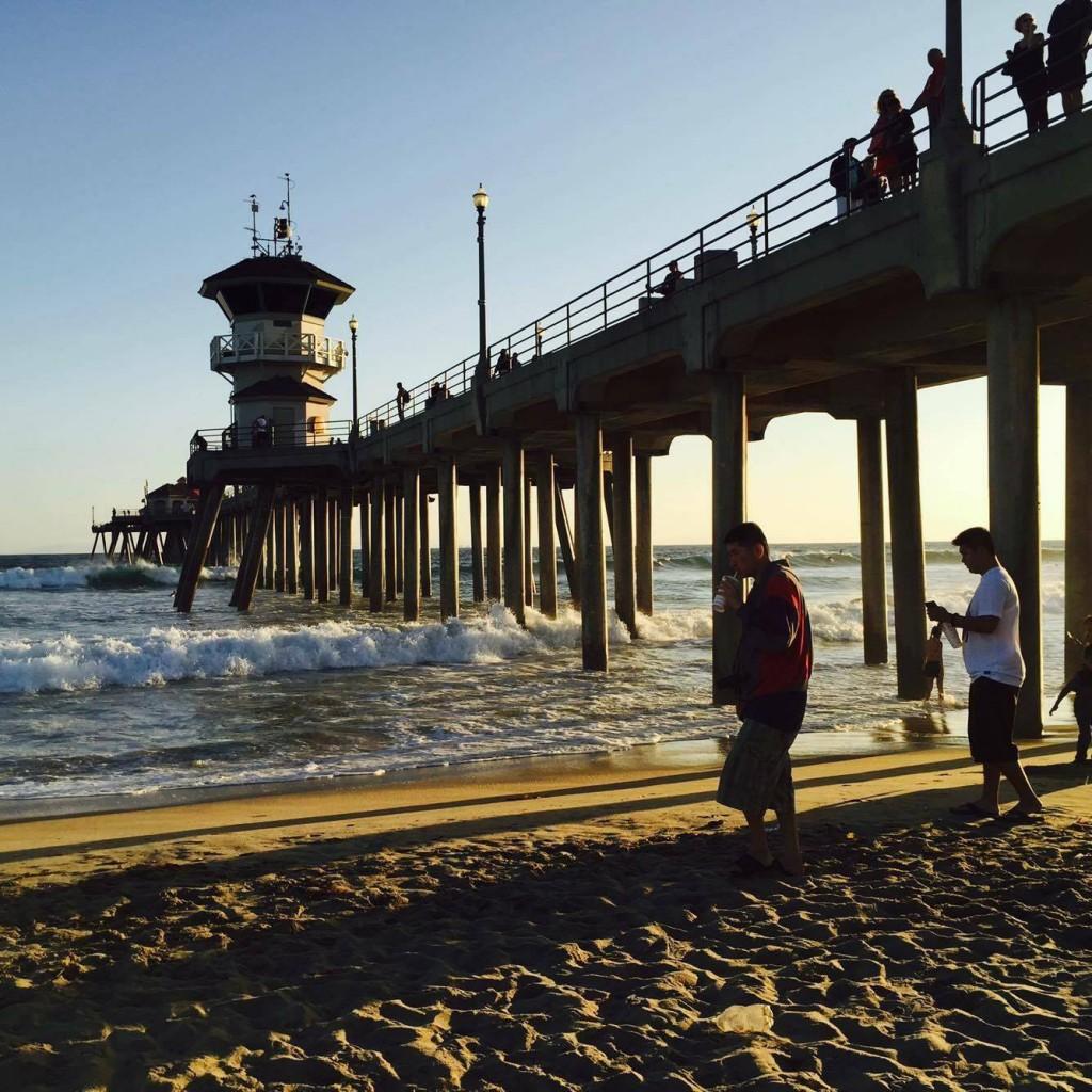 波打ち際にも近く、桟橋の下は日陰になるので夏場直射日光を避けるのにもいいでしょう。